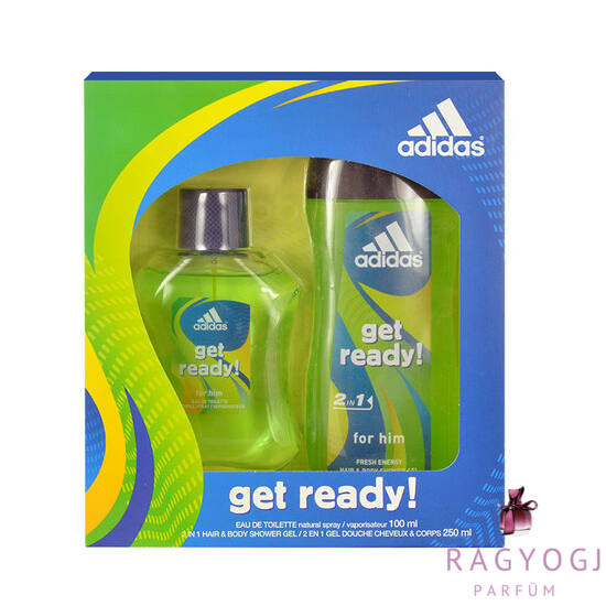 Adidas - Get Ready! (100ml) Szett - EDT