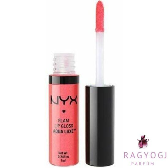 NYX - Glam Lip Gloss Aqua Luxe (7ml) - Szájfény