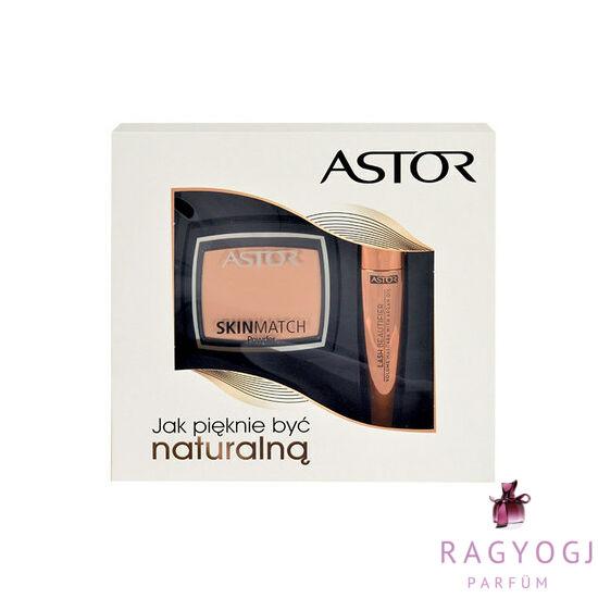 Astor - Lash Beautifier Volume Mascara With Argan Oil Kit (10ml) Szett - Szempillaspirál