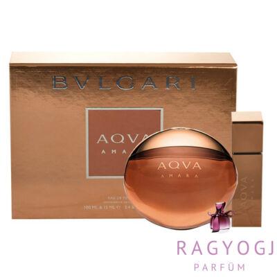 Bvlgari - Aqva Amara (100ml) Szett - EDT