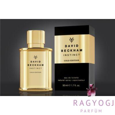 David Beckham Instinct Gold Edition 50ml Edt Férfi Parfümök