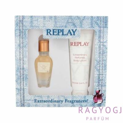 Replay - Jeans Original! For Her (20 ml) Szett - EDT