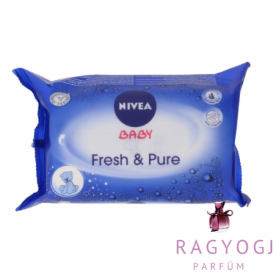 Nivea - Baby Fresh & Pure Cleansing Wipes (63ks) - Törlőkendő
