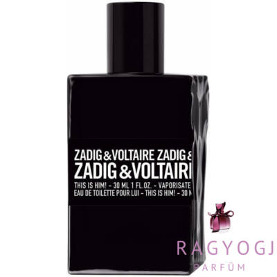Zadig & Voltaire - This is Him! (30ml) - EDT