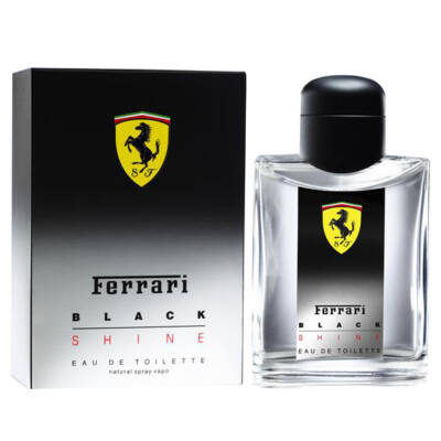 Ferrari - Black Shine (125ml) - EDT
